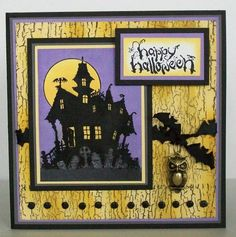 CC227 House of Haunts by MichelleRedman - Cards and Paper Crafts at Splitcoaststampers
