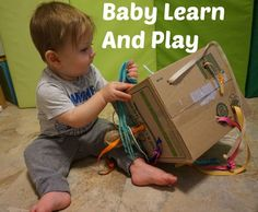 String Discovery Box:Come join me as I explore some simple and fun activities that you can try with your young infant