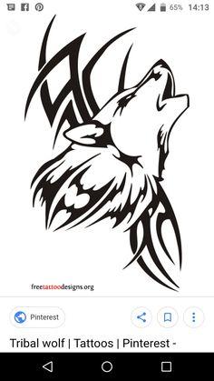 dfa19056618c0 Karin Van OpstalTatoeage ideeën · courage_winged_wolf_tattoo_ Wolf Tattoos  ...
