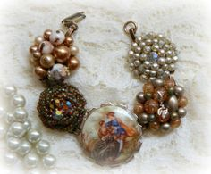 Upcycled Bracelet Repurposed Earring by urbanaccessories4u on Etsy, $36.99