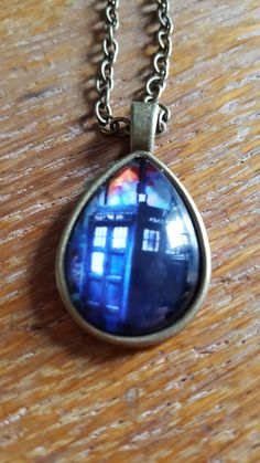 It's Bigger On The Inside Necklace by AwesomeOddities on Etsy