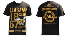 Alabama State University T-shirt - Brothers and Sisters' Greek Store