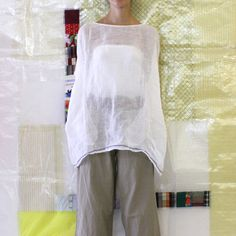 Daniela Gregis washed round neck shirt