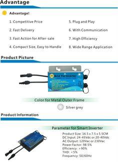 Pure Sine Wave Micro Inverter