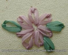 Chain stitch embroidery is simple but effective. There are many variations on the chain stitch (including lazy daisy stitch) learn how to stitch them here.