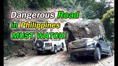Dangerous Road in Philippines that you may want to travel Kennon Road - Baguio City, Philippines Halsema Highway - Mountain Province Old Zigzag Road. Dangerous Roads, Philippines, Building, Youtube, House, Travel, Viajes, Home, Buildings