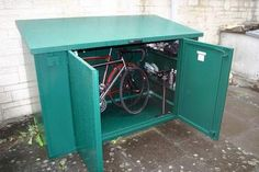 i want to build a bike shed for year-round outdoor storage. Use this idea but make this into a bar with stools