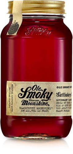 Blackberry Moonshine - Ole Smoky Moonshine Tennessee #moonshine #olesmoky