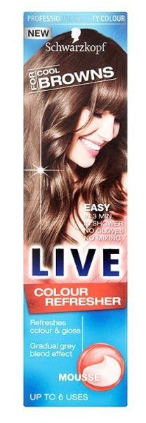 Schwarzkopf Live Colour Refresher Mousse For Schwarzkopf Live Colour Refresher Mousse For Cool Browns 75ml: Express Chemist offer fast delivery and friendly, reliable service. Buy Schwarzkopf Live Colour Refresher Mousse For Cool Browns 75ml onl http://www.MightGet.com/january-2017-11/schwarzkopf-live-colour-refresher-mousse-for.asp