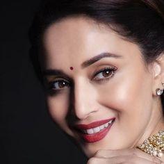 Image may contain: 1 person, closeup Madhuri Dixit Saree, Sonakshi Sinha Saree, Deepika Padukone, Sabyasachi, Manish, Bollywood Saree, Bollywood Fashion, Beautiful Girl Image, Beautiful Gorgeous