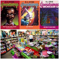Goosebumps Bücher auf der Scholastic Buchmesse kaufen.