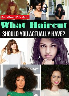 Quiz: What Haircut Should You Actually Have?