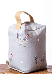 Chicken and Egg Door Stop - Our fat free option for Easter!