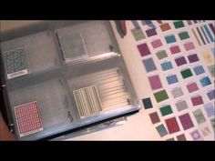 How I Store My Embossing Folders - YouTube