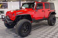 Brand New 2015 Jeep Wrangler Rubicon Unlimited Fuel wheels Toyo Open Country M& Tires AEV Dual Sport Suspension Lift Baja Designs Onyx 6 Light Bar Jeep Wrangler Rubicon Unlimited, Jeep Wranglers, Jeep Wrangler Rouge, Jeep Wrangler Lifted, Auto Jeep, Jeep Jk, Jeep Truck, Ford Trucks, Truck Drivers