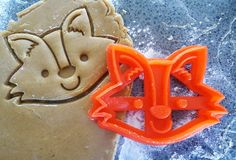 Fox 3D Printed Cookie Cutter by MakingItNice on Etsy