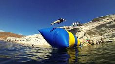 Fire-Retardant Inflatable Catapult Blob , Inflatable Water Blob