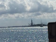 It is good to see her on the island but I also like to see her from Battery Park. I feel inner beauty of her! Breathtaking and mesmerizing! :)