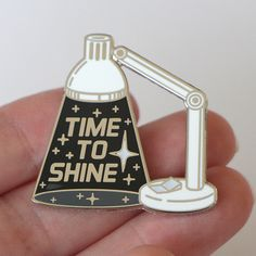 Inspirational enamel pin, space pin, space lover, inspiring lapel pin, typographic pin, glow in the dark pin by CompocoPop on Etsy https://www.etsy.com/listing/460593564/inspirational-enamel-pin-space-pin-space