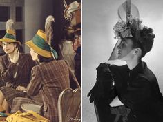 Vintage Fashion Hats from the 1930s