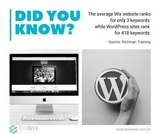 The average Wix website ranks for only 3 keywords while WordPress sites rank for 418 keywords. Fun Fact Friday, Service Quotes, Website Ranking, Rich Man, Seo Company, Seo Services, Buick Logo, Fun Facts, Wordpress