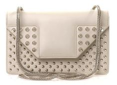 6756a5b487 Get one of the hottest styles of the season! The Saint Laurent Betty  Studded Off White Leather Shoulder Bag is a top 10 member favorite on  Tradesy.