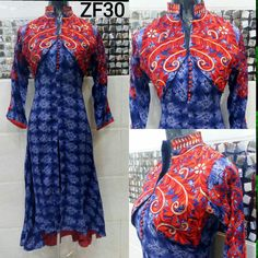 100% original  Zf30  rayon designer kurties with attached jacket size40,42,44 rs 1999+free shipping in India. .limited stock order fast what's app 9540148208