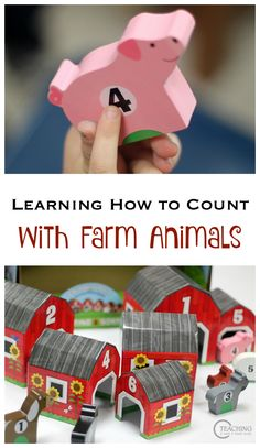 Looking for a simple and fun math activity for toddlers and preschoolers? Learn how to count with animals! Young children learn best with hands-on activities. Check out these ideas and toys that can be used for a variety of learning activities and are adaptable for different skill levels. *Great article for parents of preschoolers!