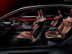 Peugeot Quartz Concept Interior View