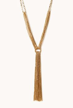 Endless Glam Chain Necklace | FOREVER21 - $7.80
