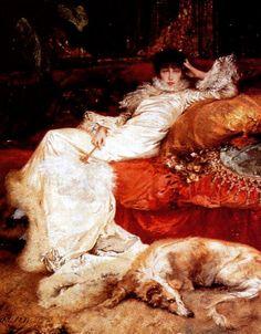 Jules Bastien-Lepage, Portrait of Sarah Bernhardt