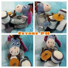My little drummer donkey! Eeyore the drummer