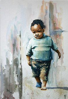Debbie Schiff - Where's your Shoe Modern Artwork, Beautiful Artwork, Contemporary Art, Famous Black Artists, Afro, Orange Farm, Happy Black, African American Art, African Design
