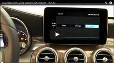 Te presentamos CarPlay, disponible en vehículos Clase C para integrar desde el iPhone 5