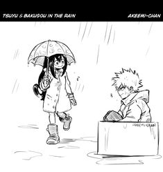 """""""I'm sorry after I saw Horikoshi's sketch this scene came to my mind like Tsuyu just passing Bakugou in the box flipping him off and having the biggest smile, so I hurried and sketched this im so. Hero Academia Characters, My Hero Academia Manga, Boku No Hero Academia, Dibujos Tumblr A Color, Death Parade, Tsuyu Asui, Death Note, Art Blog, Manhwa"""