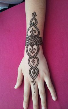 SUMMER HENNA STYLE TATTOO ART FOR WEDDING #HennaTattooIdeas