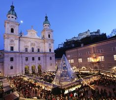 This is a picture of Salzburg Christmas Market
