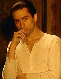 Robert De Niro as young Vito Corleone in The Godfather II.
