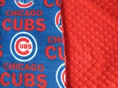 Chicago Cubs baby blanket #babyblanket  #littlebugbabydesigns