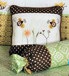 Baby Bumble Bee Bedding and Nursery Decor
