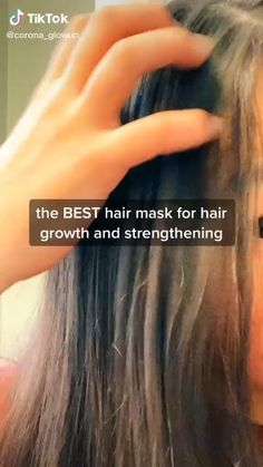 Hair mask for growth and strength
