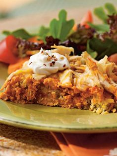 Recipes from The Nest - Chicken Tamale Casserole