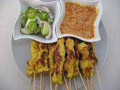 Modern Thai Food: Chicken Satay