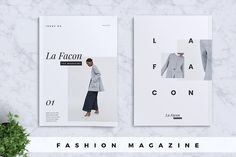 Ad: La Facon Fashion Magazine by Rahardi Design on La Facon Fashion Magazine La Facon Fashion Magazine is help you to promote your business with marvellous design. Include 12 pages design you Creative Brochure, Creative Sketches, Brochure Design, Luxury Brochure, Company Brochure, Business Brochure, Business Card Logo, Print Templates, Card Templates