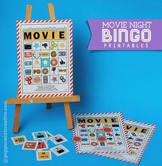 Movie Night Bingo