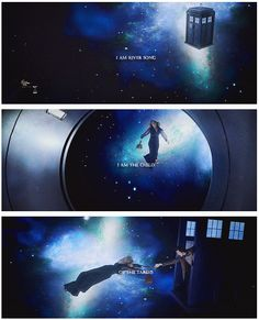 I am River Song. I am the child of the TARDIS.