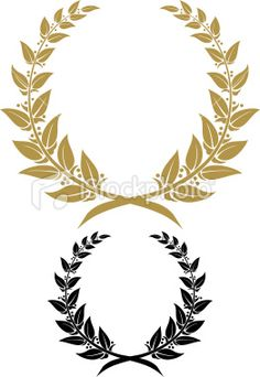 @Annie | something like this laurel wreath painted on burlap with their logo in the middle might look cool. or maybe a Q for quarter note cafe