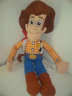 "Large Toy Story Woody Stuffed Plush 26""  #Disney Woody And Buzz, Toy Story Buzz Lightyear, Stuffed Animals, Ronald Mcdonald, Plush, Toys, Birthday, Disney, Party"