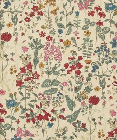 A classic English style print, Field Flowers Liberty print is a beautiful pattern of Pretty wild flowers which dance lazily in the field, reminiscent of breezy summer days. Textures Patterns, Fabric Patterns, Flower Patterns, Print Patterns, Liberty Fabric, Liberty Print, Surface Pattern Design, Pattern Art, Montage Photo