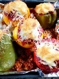 Italian Stuffed Peppers | Wholesome RD Italian Stuffed Peppers | Let food be thy medicine and medicine be thy food. – Hippocrates